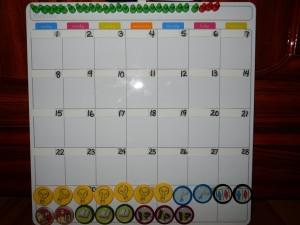 Classroom Management Calendar
